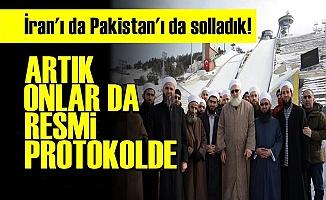 RESMİ PROTOKOLE DAHİL OLDULAR!
