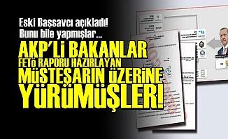 SEN MİSİN FETÖ RAPORU HAZIRLAYAN!..