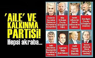 'AİLE' VE KALKINMA PARTİSİ!