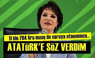 Hülya Koçyiğit Atatürk'e Söz Vermiş!
