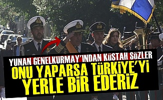 'Türkiye'yi Yerle Bir Ederiz'