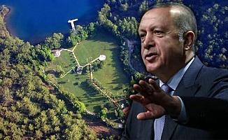 Yazlık Saray Arazisi Turizme de Kapanıyor!