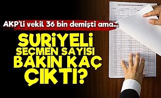 AKP'nin Verdiği O Sayı da Gerçek Çıkmadı!