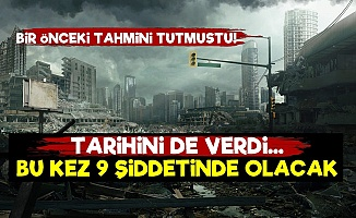 'Bu Kez 9 Şiddetinde Deprem Olacak'
