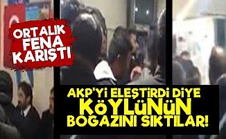 Sen misin AKP'yi Eleştiren Köylüye Saldırdılar!