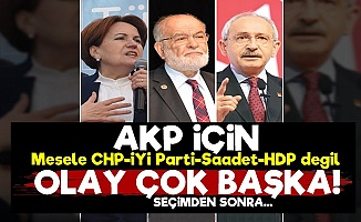 AKP'nin Derdi Seçimden Sonra...
