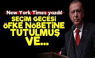 Erdoğan Seçim Gecesi Öfke Nöbetine Tutulmuş!