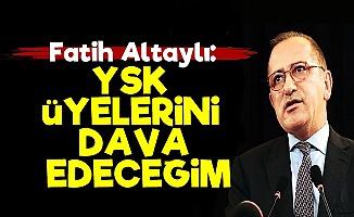 Fatih Altaylı'dan YSK'ya Sert Tepki!..