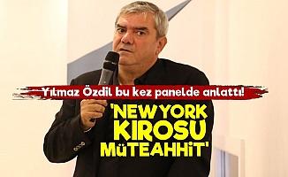 Yılmaz Özdil: Newyork Kırosu Müteahhit...
