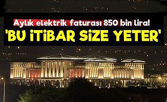 Sarayın Elektrik Faturası 850 Bin Lira!