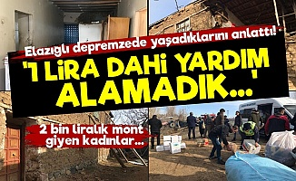Elazığlı Depremzede İsyan Etti!
