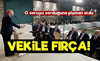 Erdoğan'dan Eski Vekiline Fırça!