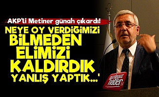 AKP'li Metiner Günah Çıkardı: Yanlış Yaptık...