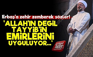 """""""Ali Erbaş İslam'ı Temsil Edemez Çünkü..."""""""