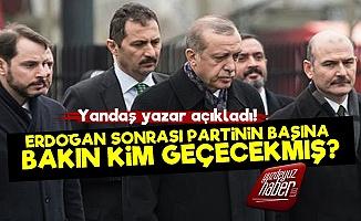 Erdoğan Sonrası Bakın Kim Gelecekmiş?