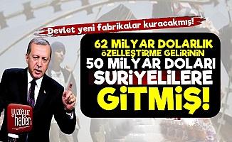 Şaka Gibi! 62 Milyar Liranın 50 Milyar Lirası Suriyelilere Gitmiş!