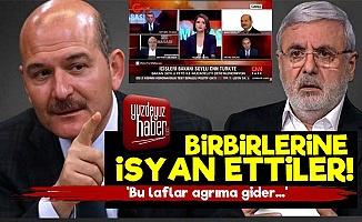 Süleyman Soylu'dan Metiner'e İsyan!