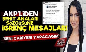 AKP Üyesinin İğrenç Mesajlarını İfşa Etti!