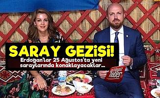Bilal Erdoğan Yeni Saraylarını Gezdirdi!