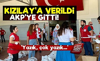 Halk Kızılay'a Verdi AKP'ye Gitti!