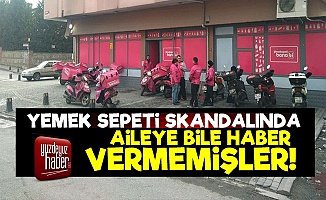 Yemek Sepeti Skandalı Örtbas Edilmeye Çalışılmış!