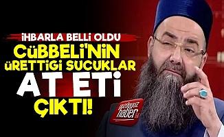 Cübbeli'nin Şirketine Ait Sucuklarda At Eti!