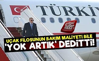 Erdoğan'ın Uçak Masrafı Bile Pes Dedirtti!
