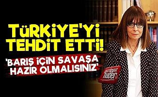 Yunan Cumhurbaşkanı'ndan Küstah Sözler!