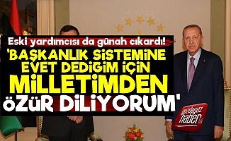 Erdoğan'ın Yardımcısı Günah Çıkardı! 'Özür Dilerim'