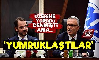 'Berat Albayrak-Naci Ağbal Yumruklaştı'