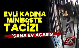 Evli Kadını Minibüste Taciz Etti!