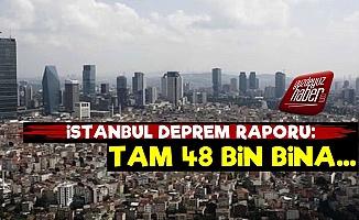 İstanbul Deprem Raporu: 48 Bin Bina...