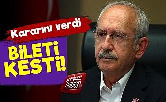 Kılıçdaroğlu Bileti Kesti!