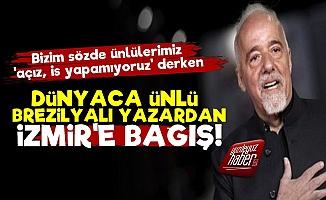 Paulo Coelho'dan İzmir'e Bağış!