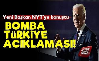Joe Biden'den Bomba Türkiye Açıklaması!