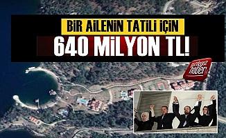 'Bir Ailenin Tatili İçin 640 Milyon TL Harcanıyor'