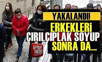 Bursa'da Erkekleri Çırılçıplak Soyup...