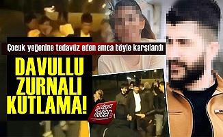 Çocuk Yeğenine Tecavüz Etti, Salıverilince Halay Çekti!