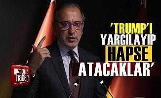 Fatih Altaylı: Trump'ı Hapsa Atacaklar