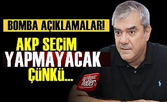 Yılmaz Özdil: AKP Seçim Yapmayacak Çünkü...