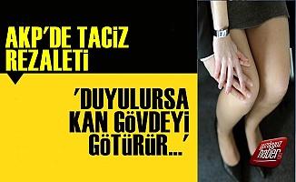 AKP'de Taciz Rezaleti: 9 Kadın İstifa Etti