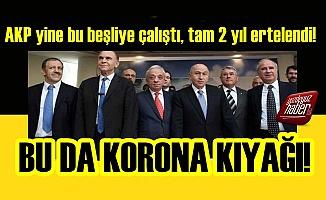 AKP Yine 5'li Müteahhitlerine Çalıştı!