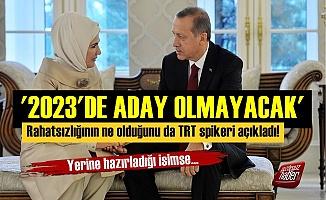 'Erdoğan 2023'te Aday Olmayacak Çünkü...'