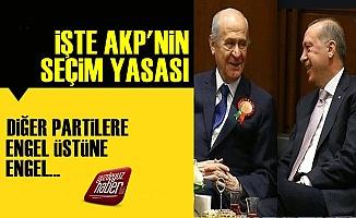 İşte AKP'nin Hazırladığı Seçim Yasası!