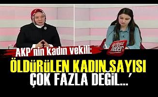 AKP'li Kadın Vekilden Skandal Sözler!