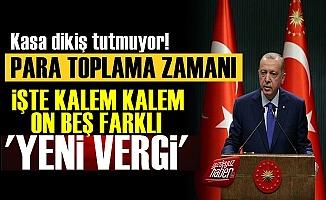 AKP'ye Para Lazım! İşte Kalem Kalem Yeni Vergiler