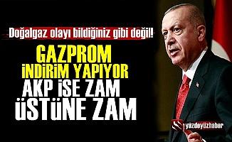 Doğalgazda Gazprom İndirim Türkiye Zam Yapıyor!