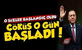Ekonomik Çöküş Erdoğan'ın O Sözleriyle Başladı!