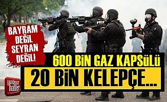 Emniyete 600 Bin Kapsül, 20 Bin Kelepçe!