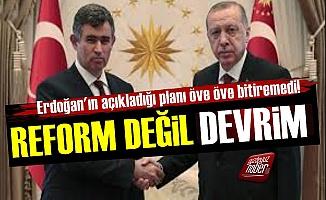 Feyzioğlu: 'Erdoğan'ın Planı Reform Değil Devrim'